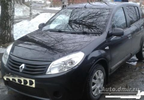 купить renault sandero рено сандеро 2010 г.в. в кирове по цене 315000 руб. autodmir.ru автомобили и цены